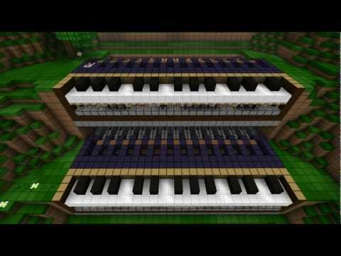 Minecraft Programmable Piano