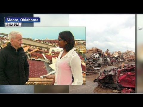 help - iReporter Swey Boyd took shelter in her car to survive the Oklahoma tornado and immediately began to help rescue others. For more CNN videos, visit our site ...