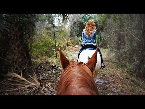 HORSEBACK RIDING IN FLORIDA!