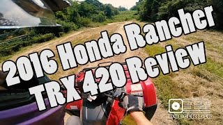 7. 2016 Honda Rancher - TRX420 ATV Review