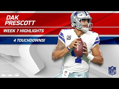 Video: Dak Prescott Dominates San Francisco w/ 4 TDs! | Cowboys vs. 49ers | Wk 7 Player Highlights