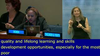 Chantal Umuhoza's Intervention at HLPF 2019: http://webtv.un.org