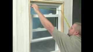 Atrium Vinyl Window Installation in an Aluminum Window Opening