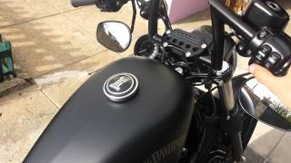 7. 2014  Harley-Davidson Sportster Iron 883