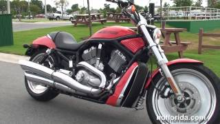 9. Used 2005 Harley Davidson V-Rod Black Motorcycles for sale - Plant City, FL