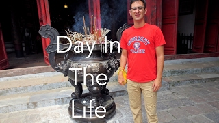 A normal day for me as an English teacher in Vietnam. Start the day with some classes and finish the day with some more. Subscribe to follow our travels.