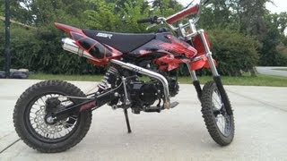 11. 2013 SSR 125cc Pit Bike Review and Fly By