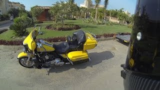 1. Harley-Davidson Electra Glide Ultra Classic CVO walk around, start & short ride