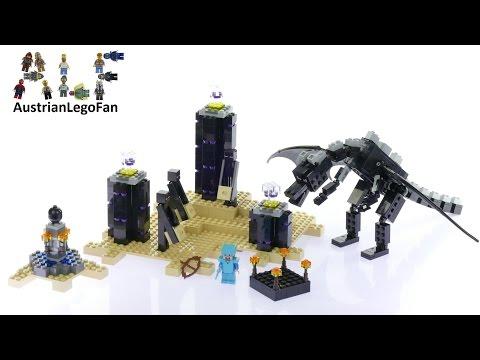 Vidéo LEGO Minecraft 21117 : Le dragon de l'Ender