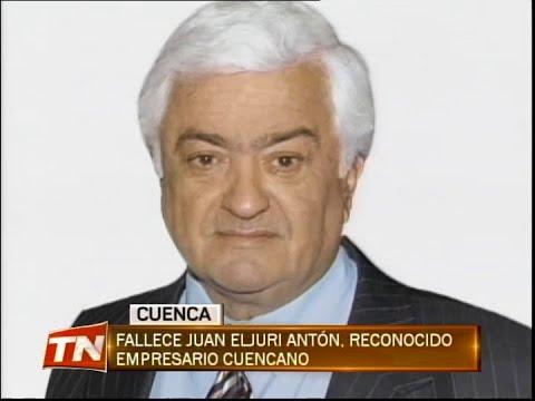 Fallece Juan Eljuri Antón, reconocido empresario Cuencano