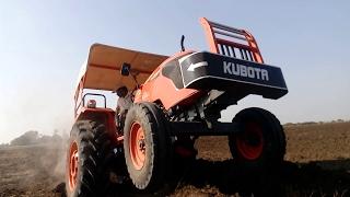 Kubota MU5501  Vs Massey Ferguson 9500 Open Challenge Demo