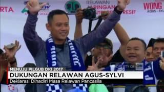 Video Relawan Jakarta Utara Deklarasikan Dukungan untuk Agus-Sylvi MP3, 3GP, MP4, WEBM, AVI, FLV September 2018