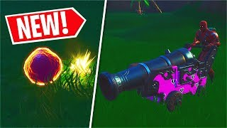 *NEW* Pirate Cannon Gameplay + Spawn Location! (Fortnite)