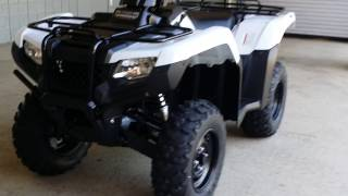 9. 2016 Honda FourTrax Rancher 420 DCT / IRS / EPS 4x4 ATV (TRX420FA6) Walk-Around Video