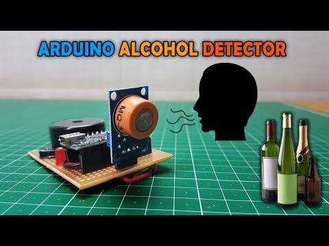 Arduino Alcohol Detector | MQ-3 Sensor