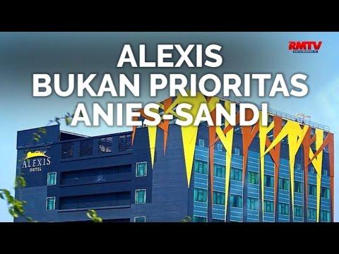 Alexis Bukan Prioritas Anies Sandi