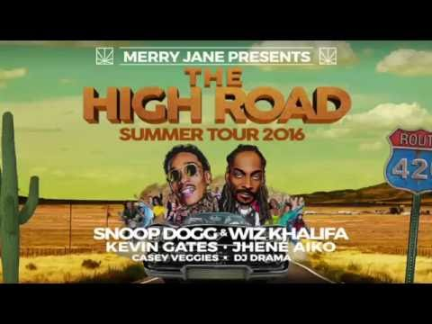 WIZ KHALIFA & SNOOP DOGG Ft. KEVIN GATES-THE HIGHROAD TOUR-Lakeview Amphitheater NY-8/13/2016