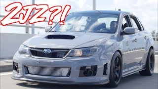 2JZ Subaru WRX SupraRu - The Most Reliable Subaru Ever?! by  That Racing Channel