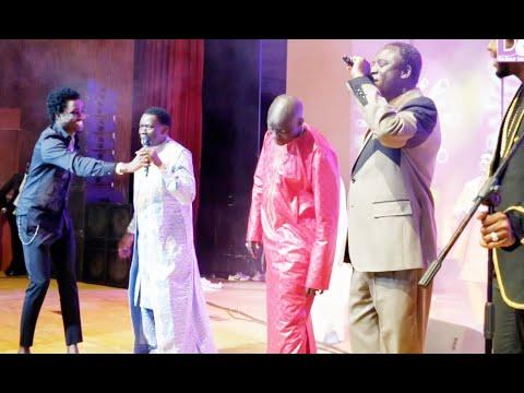 Emotion : retrouvaille en famille Thione seck fait un duo avec Assane Ndiaye et Wally Seck