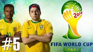 FIFA World Cup 2014 - Semi Finals Vs Germany Ep.5