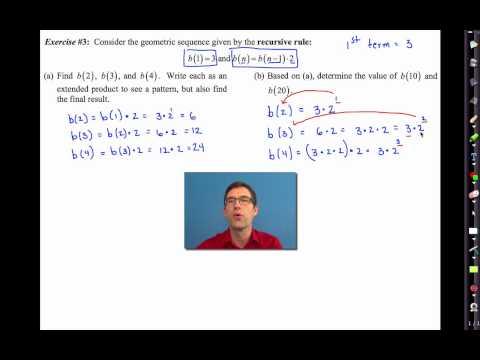 Common Core Algebra I.Unit #6.Lesson #9.Geometric Sequences
