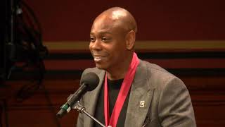 Dave Chappelle's Full Harvard Speech: Says He's Doing Another Special (Live Streamed)