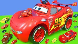 Video Disney Cars Unboxing: Lightning McQueen Battery Powered Ride on Toy Vehicles for Kids MP3, 3GP, MP4, WEBM, AVI, FLV Januari 2019