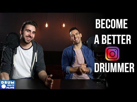 Becoming a Better Instagram Drummer - An Interview W/ Siros Vaziri   Drum Beats Online