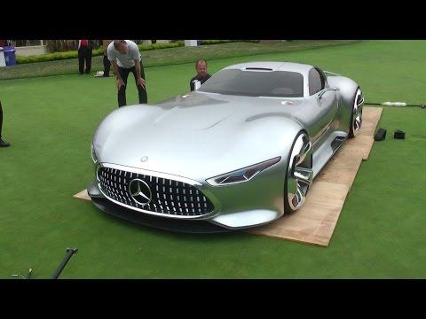la supercar del futuro: mercedes amg vision concept