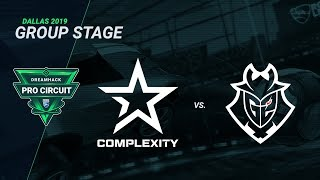 compLexity vs G2 Esports - Day 1 Group C - DreamHack Pro Circuit Dallas 2019
