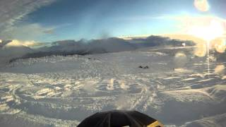 8. 2013 Arctic Cat M8 Limited in Lost Lake part 2