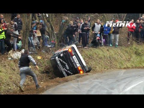 Rally Sprint Felsőnyárád - Sajókaza 2014 | Crashes and Show