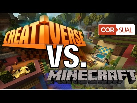 Creativerse - 10 Unterschiede zu Minecraft