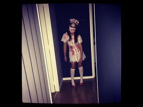 Ѽ ╠╣alloween : Infirmière Zombie  ✁ ✞