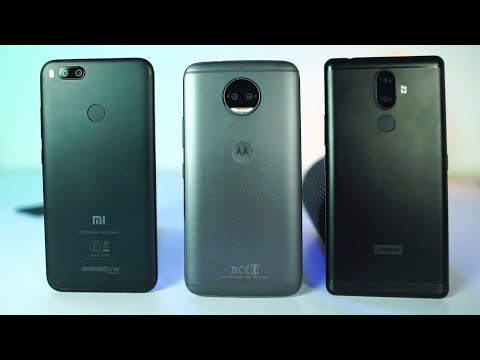 MI A1 vs Moto G5s Plus vs Lenovo K8 Note Speed Test and Memory Management Test