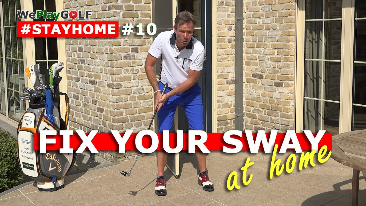 Stop swaying and sliding while you putt - EASY GOLF FIX