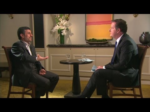 Mahmoud Ahmadinejad on homosexualty