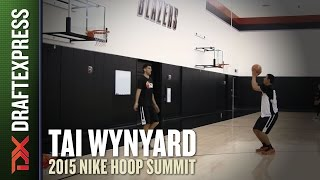 Tai Wynyard - 2015 Nike Hoop Summit - Shooting Drills