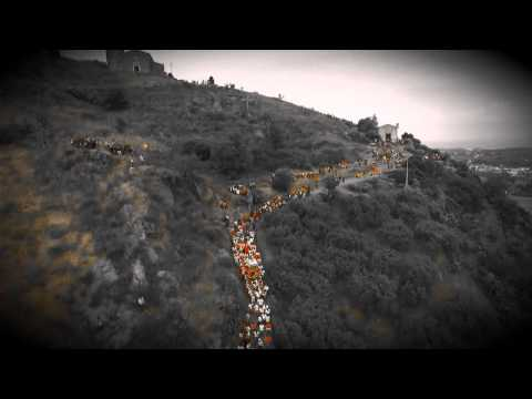 la storica discesa di s. filippo siriaco sulle spalle dei fedeli (2015)