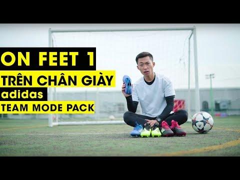 [TRÊN CHÂN] Pack giày Teammode Pack adidas | Tungage On Feet Tập 1 - Thời lượng: 5 phút, 5 giây.