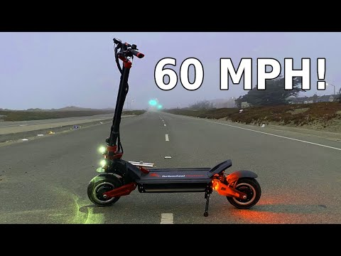 TURBOWHEEL PHAETON Electric Scooter Review | A powerful and thrilling ride at a great price