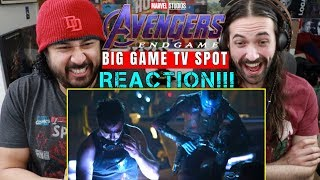 Marvel Studios' AVENGERS: ENDGAME - SUPER BOWL TV SPOT - REACTION!!!