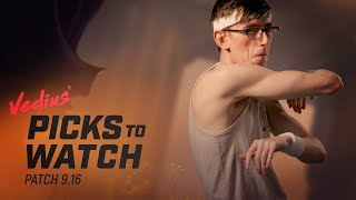 Patch 9.16 | Vedius' Picks to Watch by League of Legends Esports