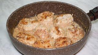Рисовые тефтели с подливой рецепт как в садике