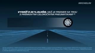 MICHELIN CrossClimate + : Vydrží o 25 % dlhšie (slovenčina)