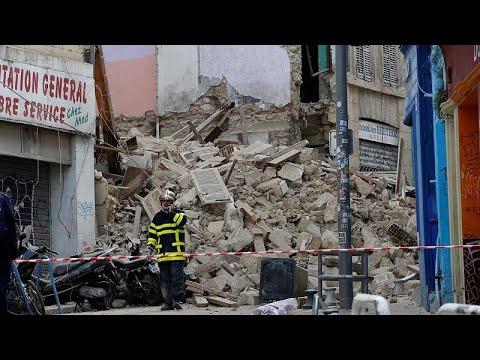 Μασσαλία: Δύο κτίρια κατέρρευσαν στο κέντρο της πόλης