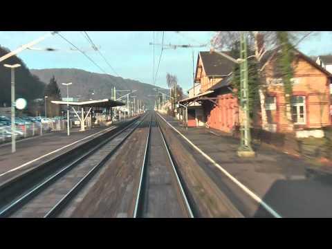 Führerstandsmitfahrt: Linke Rheinstrecke:Mainz - Köln 2/2
