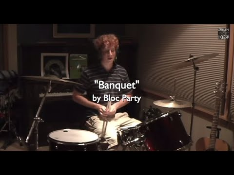 Bloc Party - Banquet Drum Cover