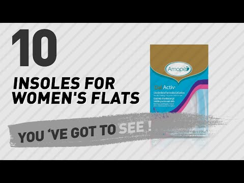 Insoles For Women's Flats // New & Popular 2017