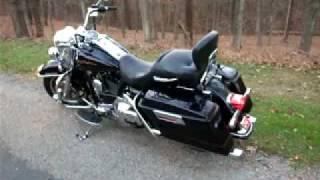 6. 2001 Harley Road King FLHRI - Kerker Exhaust Slip-Ons sound